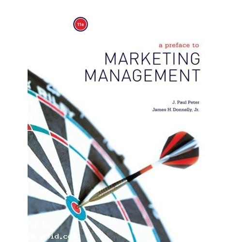 Preface to Marketing Management [Paperback] ISBN 9780073380964