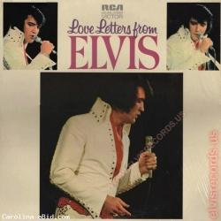 Elvis Presley  Love Letters From Elvis Label