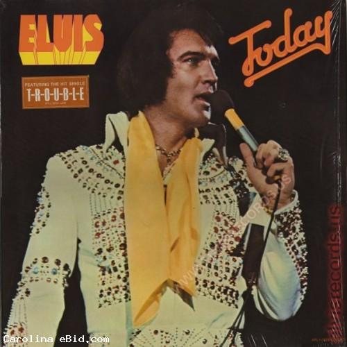 ELVIS PRESLEY - ELVIS TODAY Album
