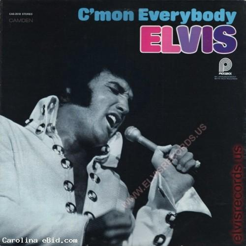 ELVIS LP - C'MON EVERYBODY - ELVIS