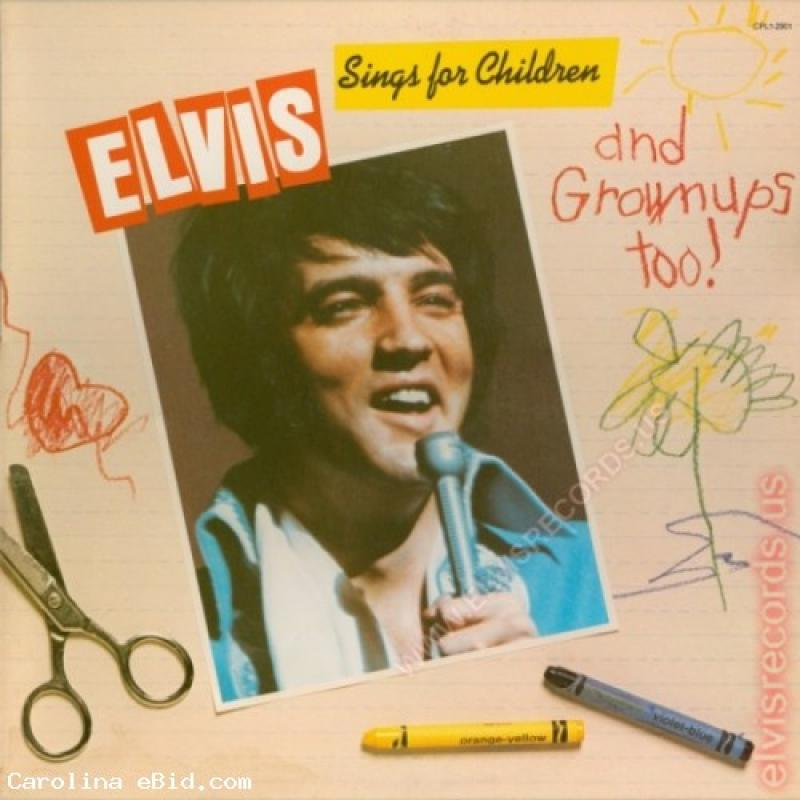 Elvis Sings for Children and Grownups Too