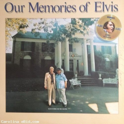 1979 OUR MEMORIES OF ELVIS 12 RECORD